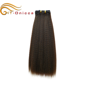 Unprocessed black yak body hair used for hair products