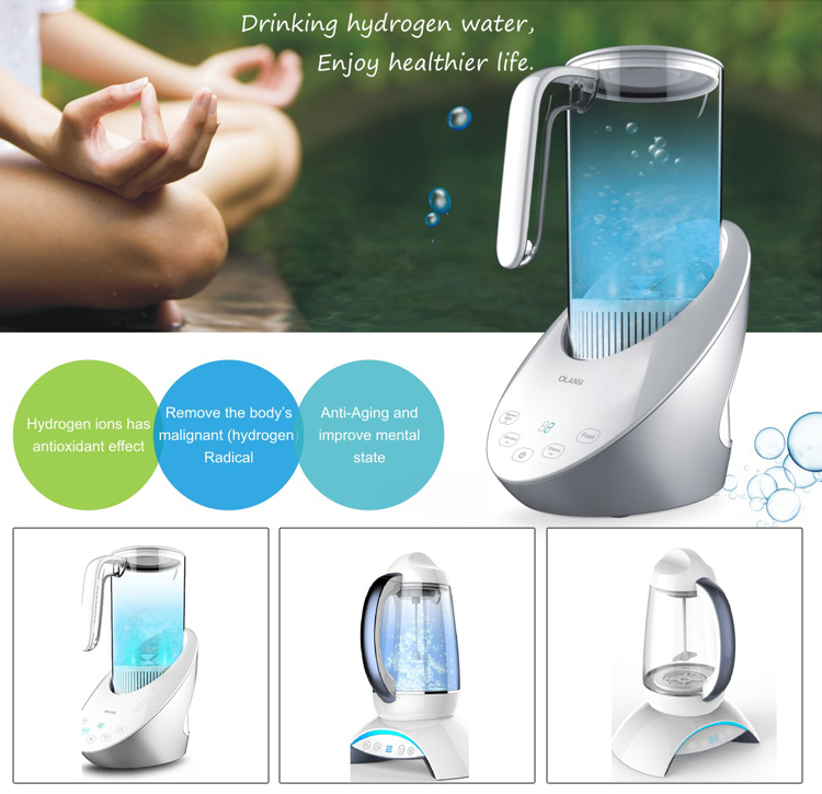 China Manufacture Korea Hydrogen Cup Spe Generator Active Rich Hydrogen Water Machine