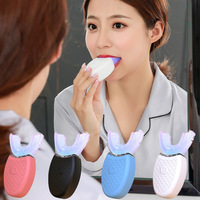Nice design U Shape Electric Toothbrush 360 Degrees full Automatic rechargeable 360 toothbrush