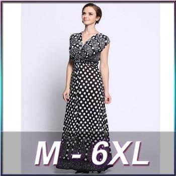 51e70f4046cc8f damen westlichen kleid designs jersey polka dot kleid benutzerdefinierte  kleidung hersteller großhandel modisches kleid für dicke