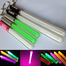 LED glowing stick Custom LOGO stick keychain for promotional gifts LED acrylic stick best Christmas and wedding gifts