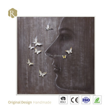 New design handmade famous women painting on canvas for home deciration(Y107326)