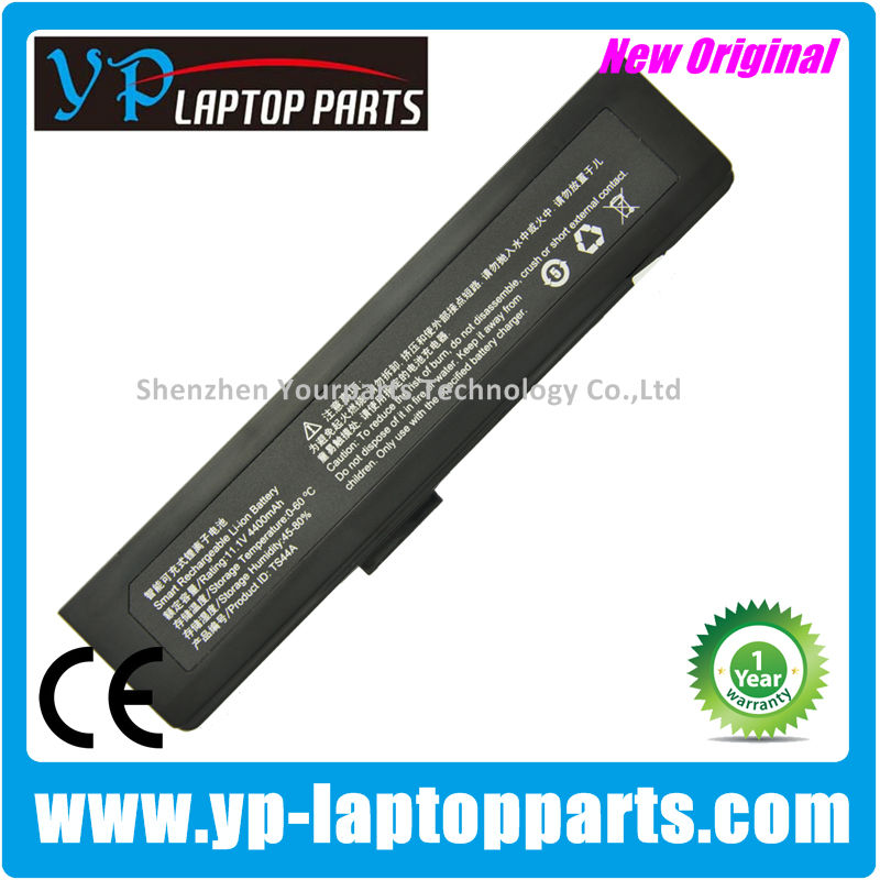 Genuine original laptop battery For Hasee Haier T66 S650 S650A S650N TS44A notebook battery