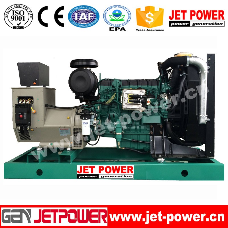 100kva 80kw gas engine generator set with silent canopy for sale