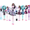 6pcs lot Wholesale Fashion lot for sale original for monster dolls high clothes doll skirt leisure