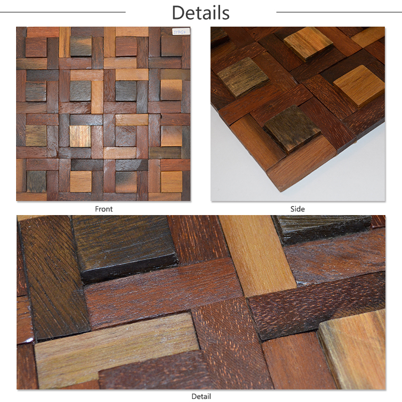 Wood Wall Tiles And Natural Wall Coverings