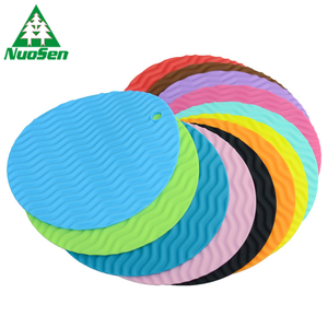 Large Size Coasters Silicone Rubber Drink Coasters Bowl Holder Waterproof