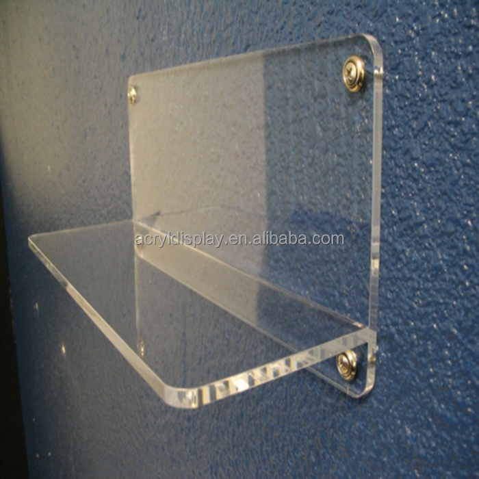 Custom decorative wholesale acrylic shelving units