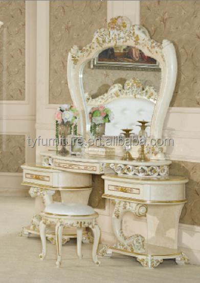 Bedroom furniture MDF dressing table /mirrored dresser
