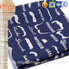 Bright color mustaches shaped jacquard lining tulip fabric for Chaise