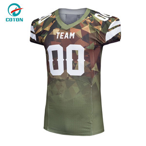 2018 Youth American Football Draft Pick Game Wear Jersey