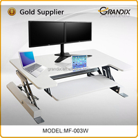The fine quality free standing office desk table