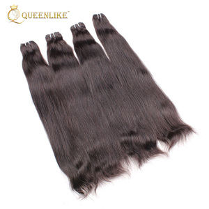 hot sale 40 inch wholesale indian raw unprocessed virgin human hair