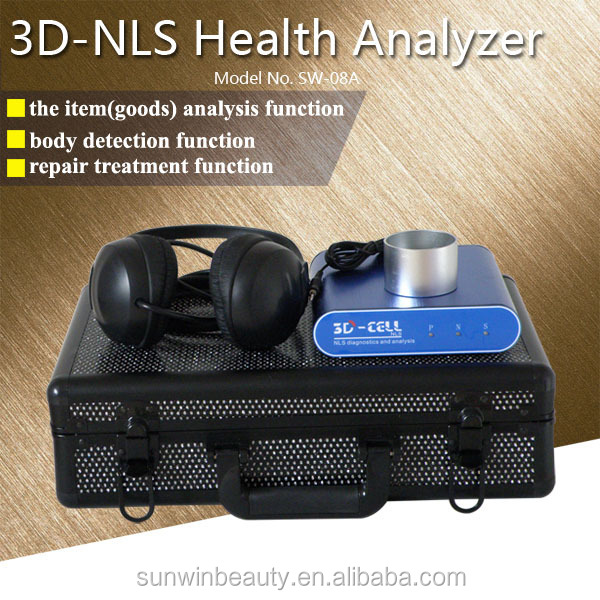 SW-08A Sunwin bioresonance Bioplasm 3d nls body health analyzing device