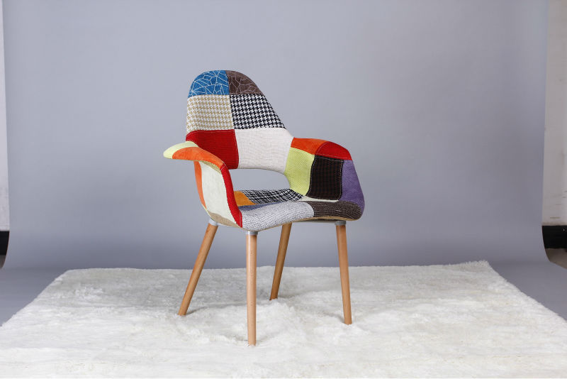 Replique Eames Dsw Moderne Patchwork Eames Chaise Salle A Manger