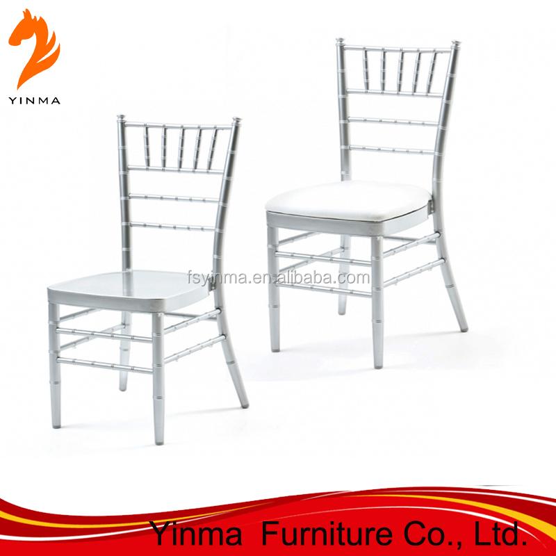 Möbel Kommerziellen Möbel Hochzeit Aluminium Bankett Chiavari Stuhl