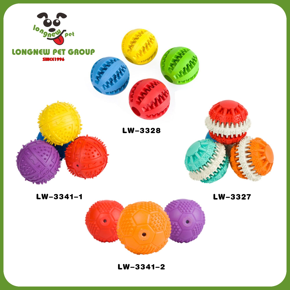 High Quality Natural Rubber Chewing Toy Dog Ball