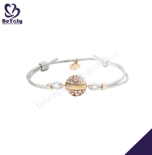 Fashion cheap cz 925 sun silver jewelry bracelet
