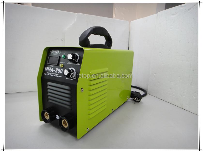 Mini MMA IGBT Handheld Schweißer 220 V 0-130A Inverter ARC-420S Schweißmaschine