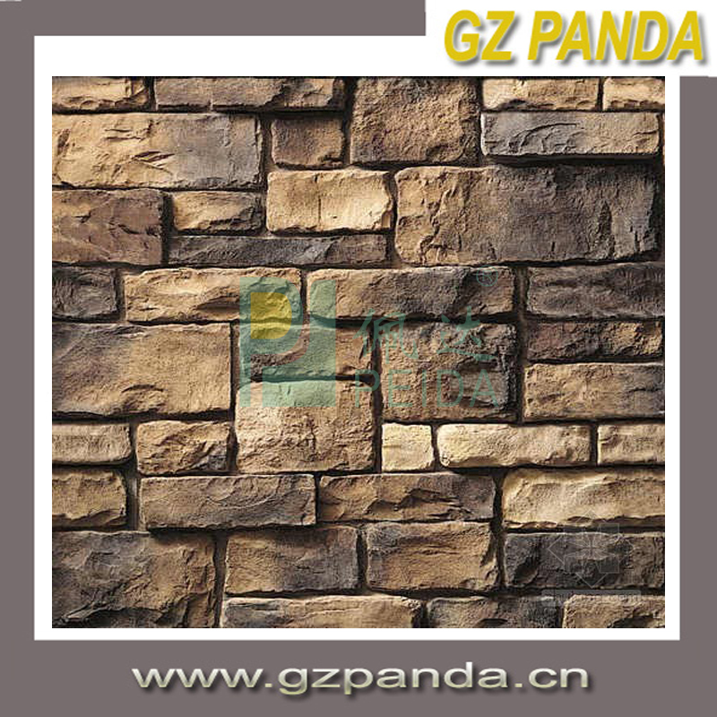 Pared de piedra decoraci n exterior decorativo de pared - Piedra pared exterior ...