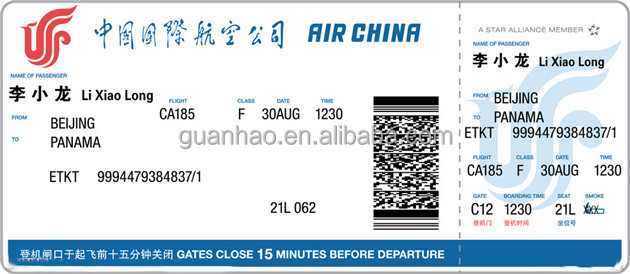 Airline Thermal Paper Boarding Pass Buy Paper Boarding