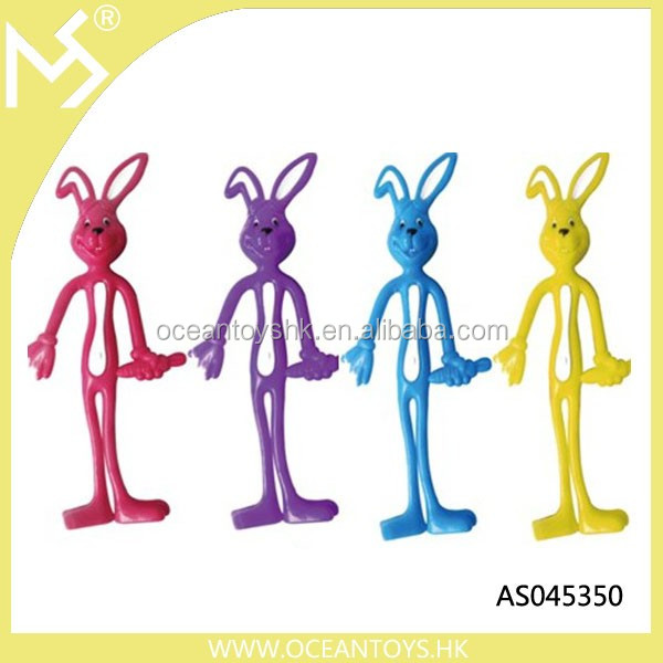 Custom Easter Bunny Bendable Figures Toys