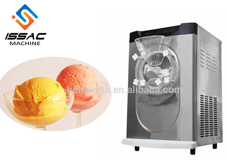 IS-QB12T 10-14L/H Desktop Hard Ice Cream Machine