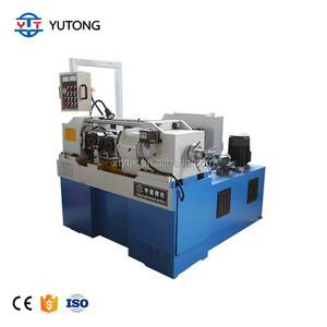 High speed screw thread rolling machine Used roll forming machine Pipe Screw Rolling making Machine