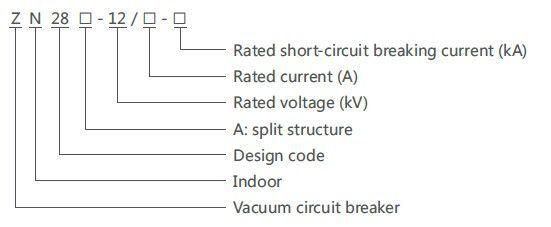 Zn28a 12 Zn28 12 Type 26 Years Experience Vacuum Circuit Breaker