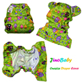 JinoBaby Cloth Diaper Cover Reusable Baby Diapers Covers One Size Fits All nb to 30 pounds