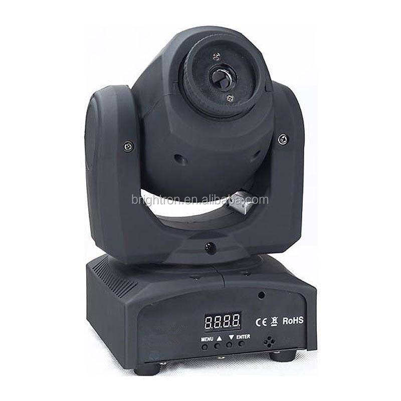 Indoor single green 80mw led beam moving Head laser light