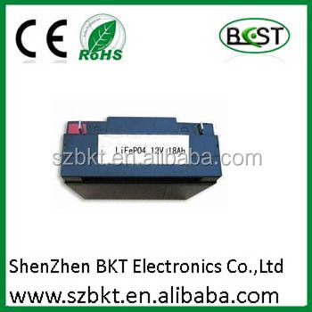 12v 19ah lifepo4 nano phosphate battery rechargeable 12v dc battery pack rechargeable battery pack 12v/2a