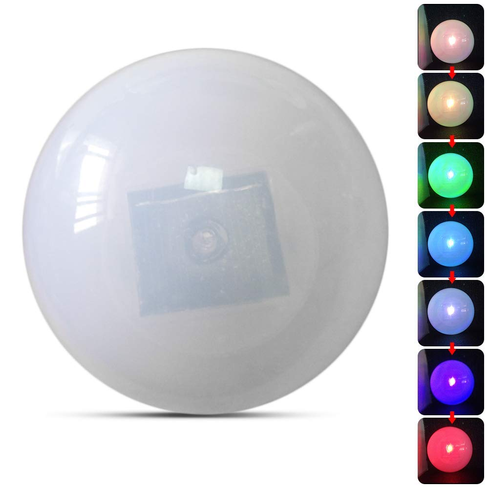 Solar Floating Pond Ball Light Led Mood Ball Lamp Decorative Solar Garden Pool Lights Color Changing Outdoor Waterproof Colorful Ball Light for Garden Yard Beach Swimming Pool Camping - Colorful