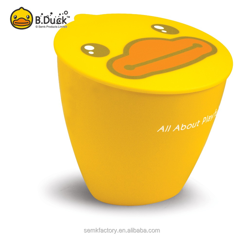 Novelty B.Duck garbage container Type fashion small cheap plastic garbage rubbish bin