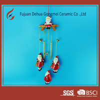 ceramic gift wind chime wholesale wall decorative