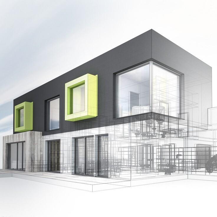 Bisini Urban House Design 3d Home Architecture Rendering