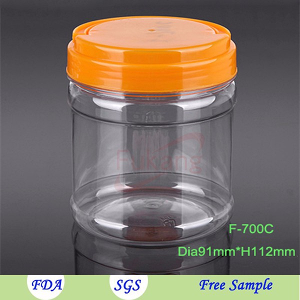 Clear Plastic Straight Sided Jars With Aluminum Lid Malaysia,Pet ...