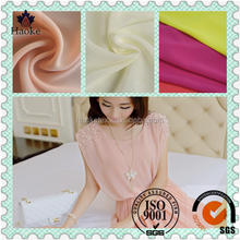 made in suzhou for dress plain 100% polyester chiffon fabric price per meter cheap