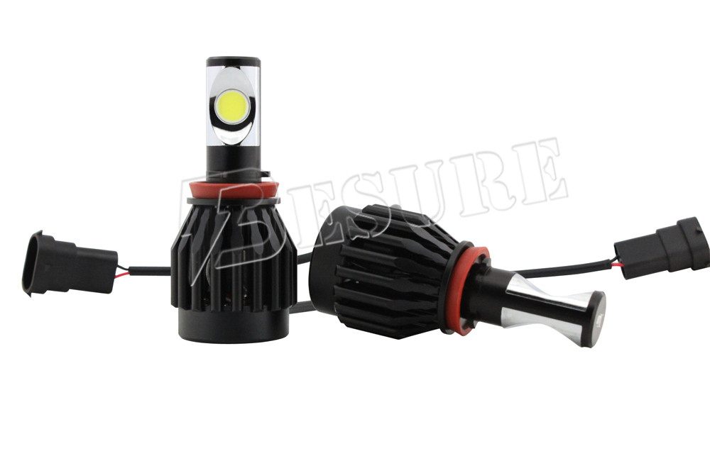 Super Bright H8/H11/H16 Car LED Headlight 30W 3000LM Automobile LED Headlight for Offroad 4x4 Accessories