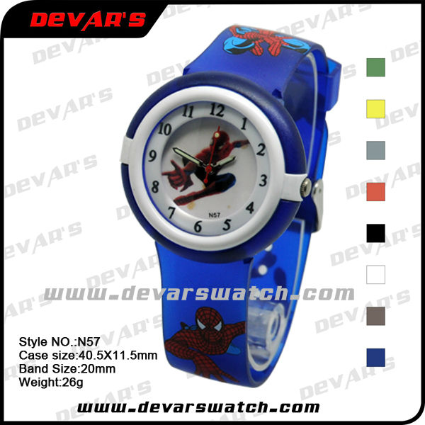 kid digital watch jelly color of good quality cheap price hot promotion 2013