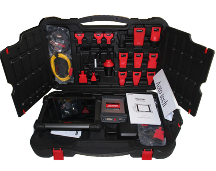 Newest auto diagnostic tool autel maxisys pro ecu programming tool adaptation coding with J2534 interface