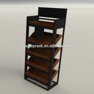 The showroom display stands for tiles/ 4 layers wood floor display stand