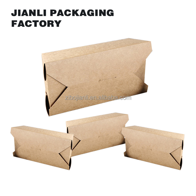 custom luxury recyclable fast food paper packaging