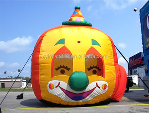 Clown Balloon inflatable Typhoon bouncer