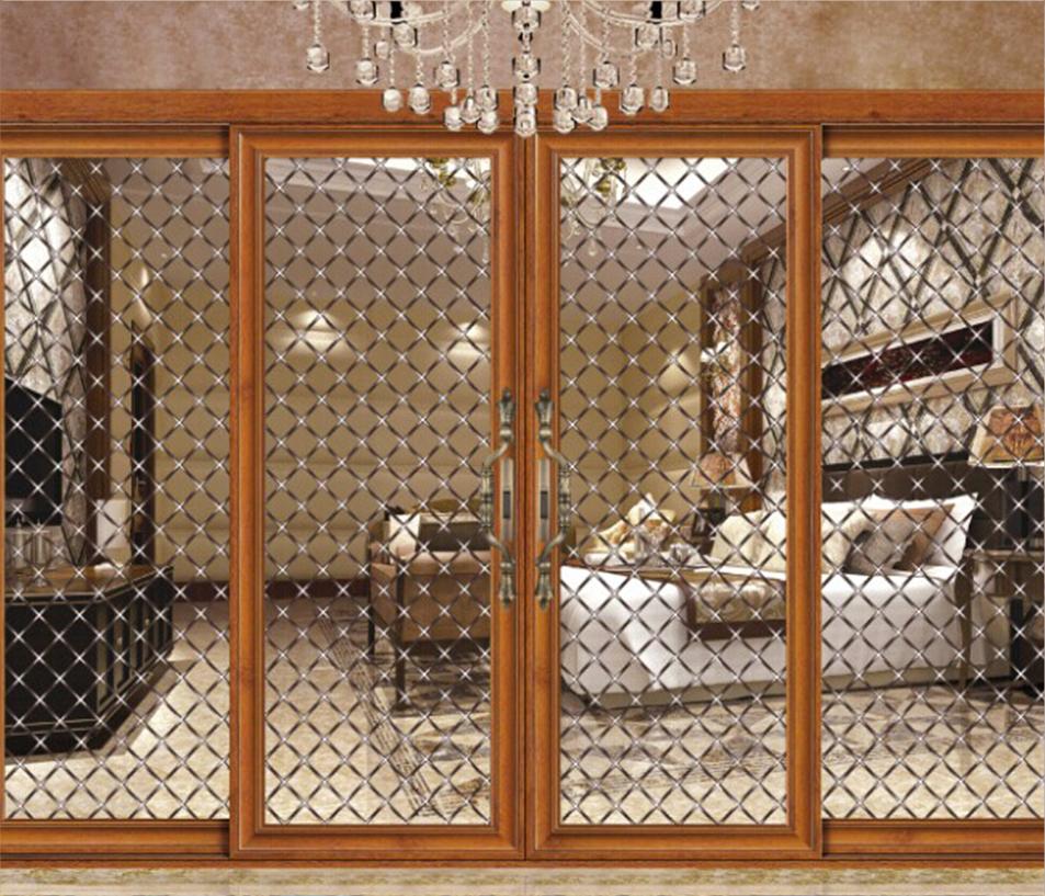 Fashionable Wholesale Decorative Glass Panels For Doors