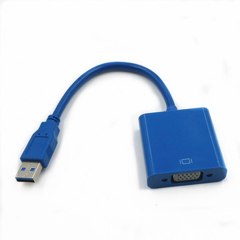 Vendita calda USB 3.0 a VGA Video Display adapter cavo esterno per computer, PC