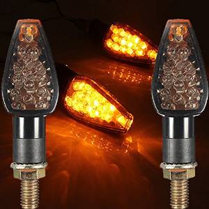 BephaMart Motorcycle Turn Signal Led Dual Sport Supermotor Light Blinker Shipped and Sold by BephaMart