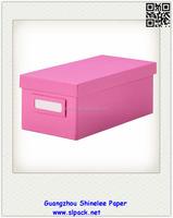 custom Pioneer Jumbo Scrapbook Storage Box/paper box with lid