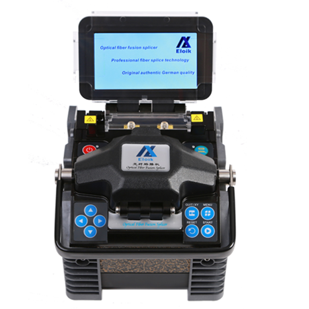 New Design Small Size Lightweight Core Alignment Ftth Fiber Optic Fusion Instrument Mfs T60 Splicer Single Fiber Fusion Splicer Dependable Performance Cellphones & Telecommunications