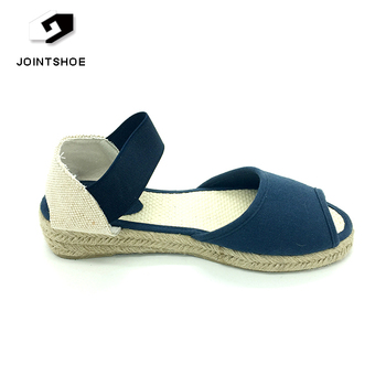60598d561 Open Back Simple Design Women Jute Espadrilles Shoes Sandals - Buy ...